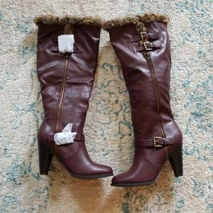 NWOT Tall Boots